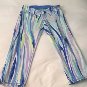 Lilly Pulitzer Luxletic Crop Pants -M